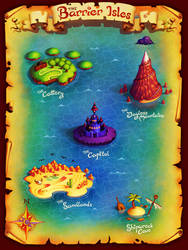 Map - A Defender's Tale by einen