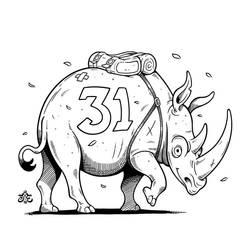 31st of Rhinoary: Farewell by einen