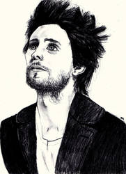 Jared Leto Drawing by innyxsus