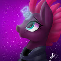 Hope and sparks- Tempest shadow fanart by SweetKllrVane