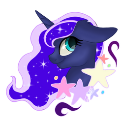 Princess Luna sticker by SweetKllrVane
