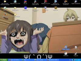 Minami-ke okawari desktop by Saminka