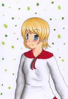 a female assassin by Saminka