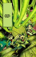 Pokemon ultimate Grass type move by MuGeN-Chin