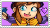 Hat kid lover Stamp by PikachuDM