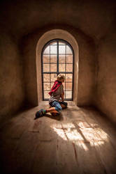 Boy and the Window by JanneO