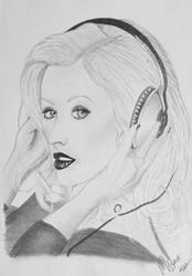 Christina Aguilera by margaret-art