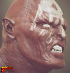 Lurtz WIP2: Sculpting Skin and Ligthing Fun!! by SergioMengual2012