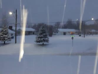 Nov 16th/18 winter storm by BlueIvyViolet