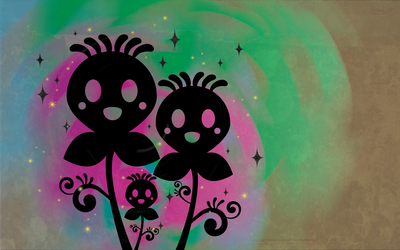 Psychedelic Flowers by purpleoctopussy