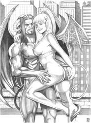 Caemgen and Lestari by RamArtwork