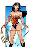Wonder Woman color by RamArtwork