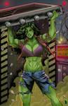 She-Hulk TV by RamArtwork