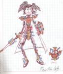 Kamen Rider Neo-IXA by MarioStrikerMurphy