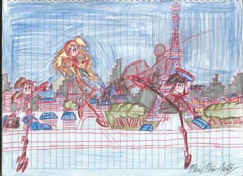Smashing Travellers: Paris by MarioStrikerMurphy