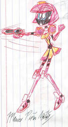 Kamen Rider Poppy With Bugvisor Zwei-Chainsaw by MarioStrikerMurphy