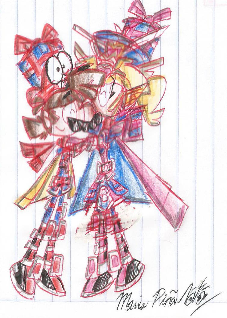 Mario X Peach by MarioStrikerMurphy