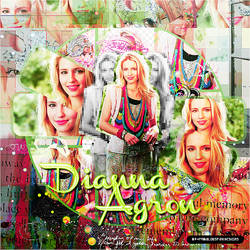 Blend Diana Agron 001 by ThisIsMyWorldDesigns