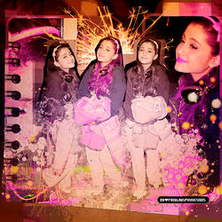 Blend Ariana Grande 002 by ThisIsMyWorldDesigns