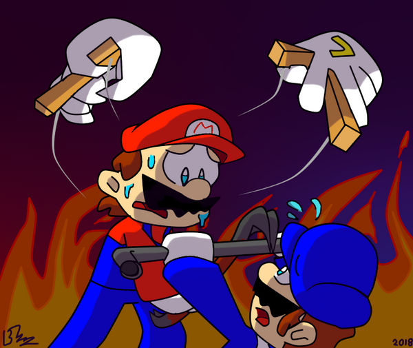 Smg4 The Mastermind Behind The Strings By Flowerbruh On