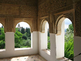 Andalusian palace by Leina1