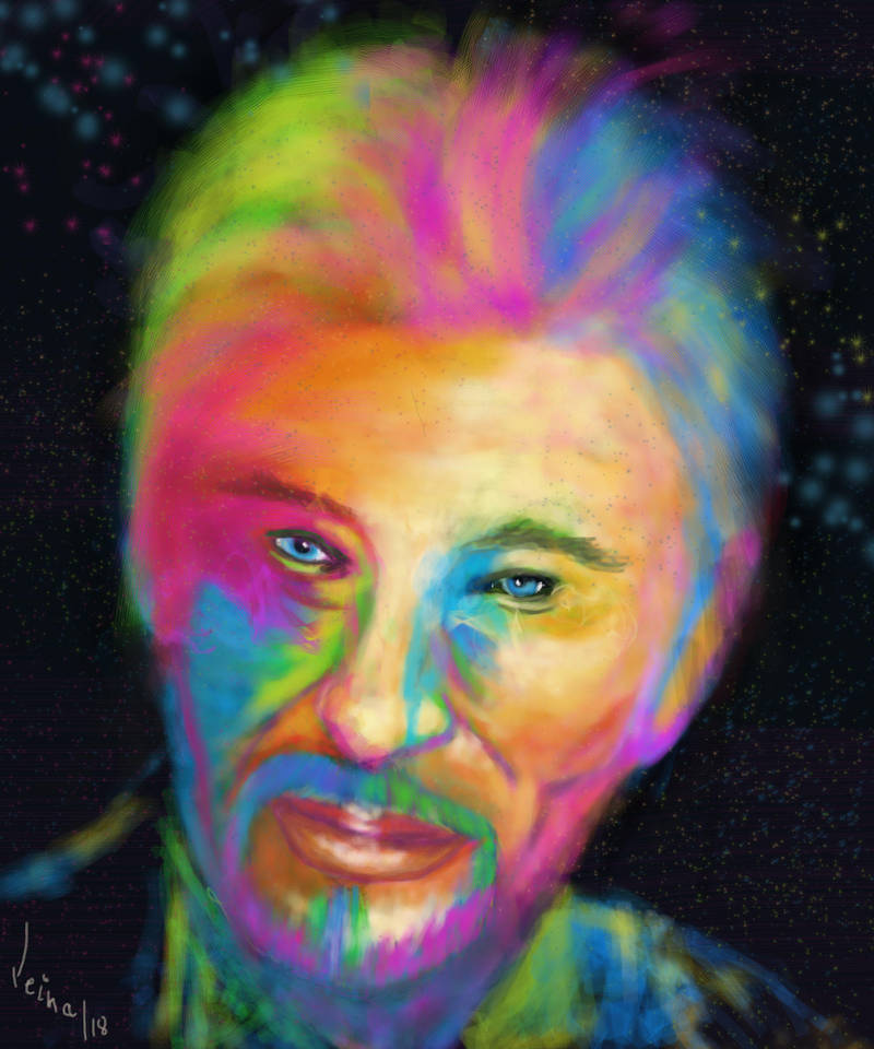 Johnny Hallyday by Leina1