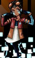 Rex Vocaloid by DesertDraggon
