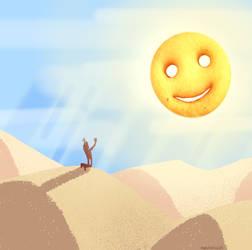 Kevin Week: Smiling God Day by DesertDraggon