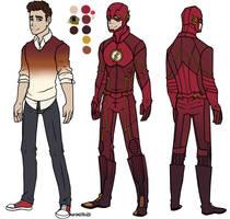 The Flash by DesertDraggon