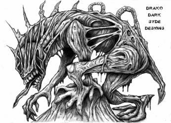 Drako Dark Syde: Gargoyle Demon... by MoodDisorder