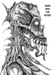 Drako Dark Syde:  The Scratch You Cannot Itch.. by MoodDisorder