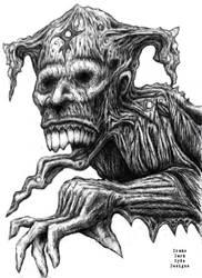 Drako Dark  Syde: The Demon of Regret... by MoodDisorder