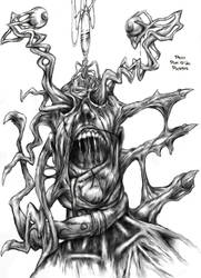 Drako Dark Syde: Eyes that have Seen Hell... by MoodDisorder
