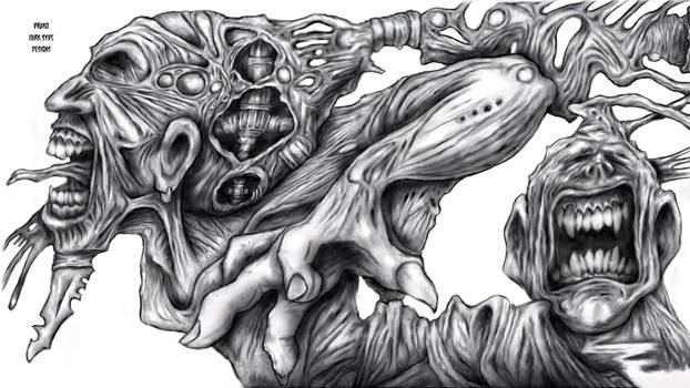 Drako Dark Syde: Dicotomy of Sufferring... by MoodDisorder