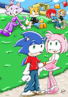 RQ Sonic and company by ViralJP