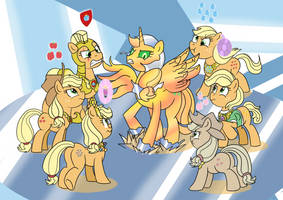 COMM The AJs of Harmony by ViralJP