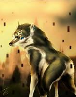 The Blue Eyed Beast by Kiseba