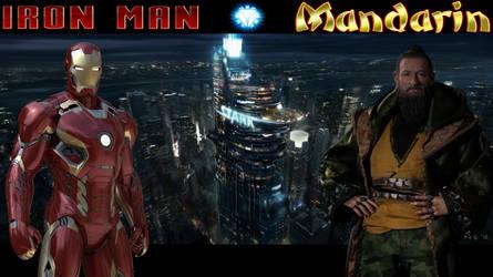 Iron Man vs. Mandarin! by Camo-Flauge