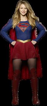 Supergirl - Transparent Background! by Camo-Flauge