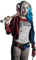 Suicide Squad's Harley Quinn - Transparent! by Camo-Flauge