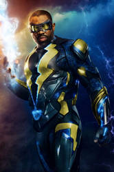 CW's Black Lightning (Edited). by Camo-Flauge