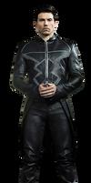 Black Bolt (Full Body) - Transparent Background! by Camo-Flauge