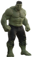 Thor Ragnarok: Hulk - Transparent! by Camo-Flauge