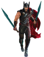 Ragnarok: Thor - Transparent! by Camo-Flauge