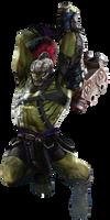 Ragnarok: (World War) Hulk - Transparent! by Camo-Flauge