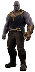 Infinity War: Thanos - Transparent! by Camo-Flauge