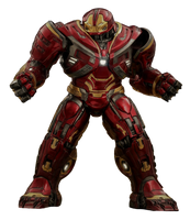 Iron Man Hulkbuster Mk-2 - Transparent! by Camo-Flauge