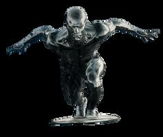 Silver Surfer - Transparent! by Camo-Flauge
