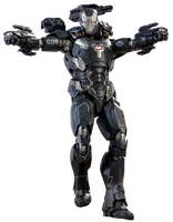 War Machine (Mk-4, Infinity War) - Transparent! by Camo-Flauge