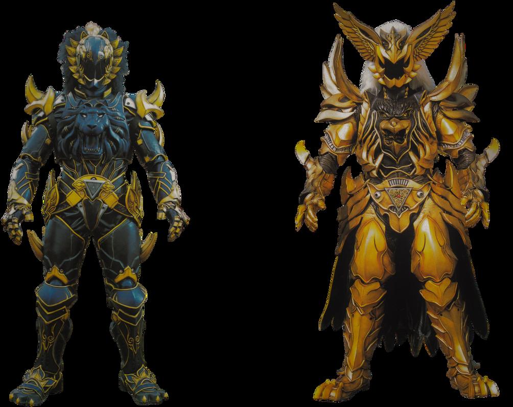 Jungle Fury Black Lion Warrior - Transparent! by Camo ...